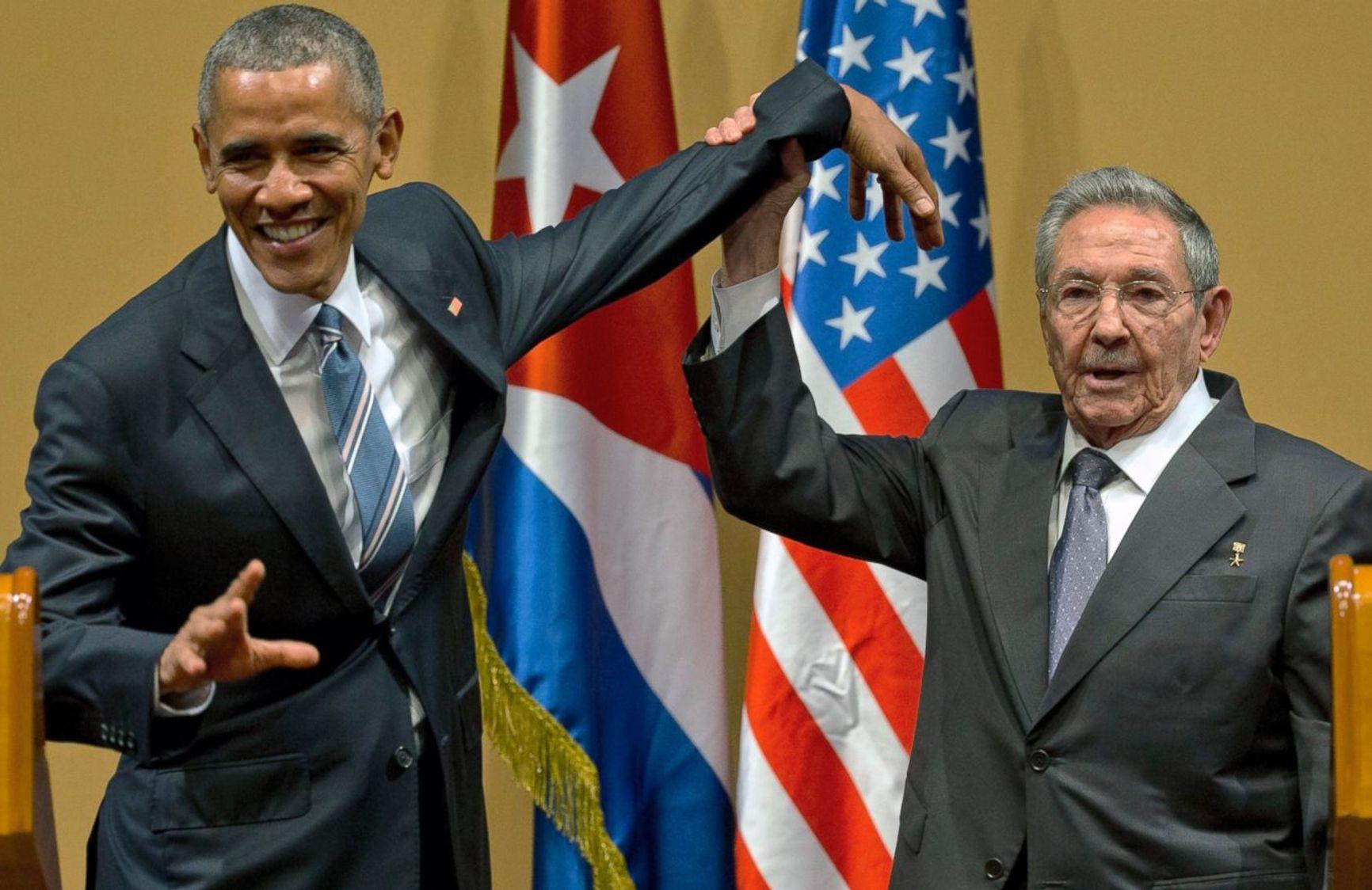 2018 год, первая встреча президентов Кубы и США с 1922 года