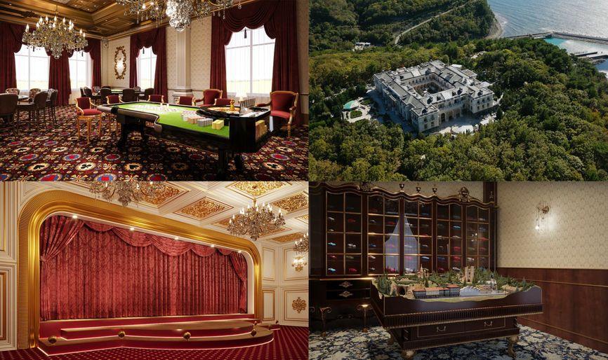 дворец Путина на Черном море