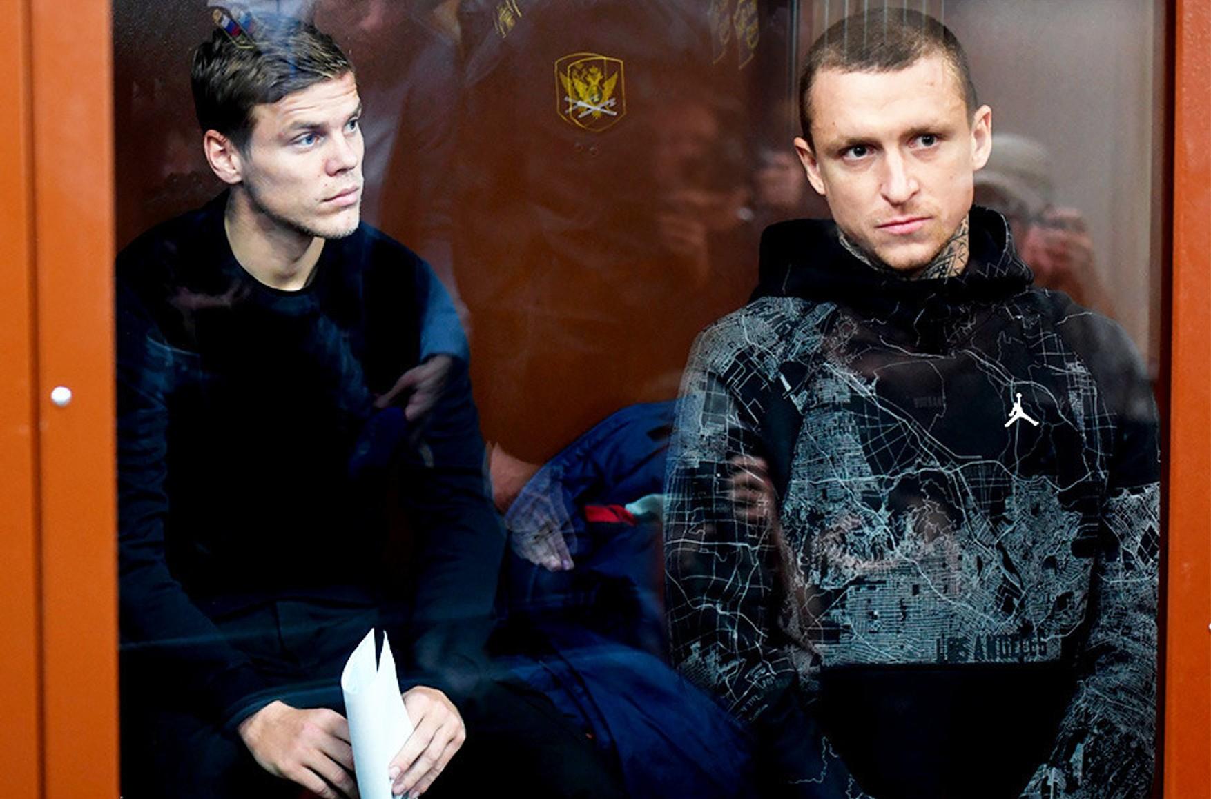 Кокорину и Мамаеву продлили арест на полгода