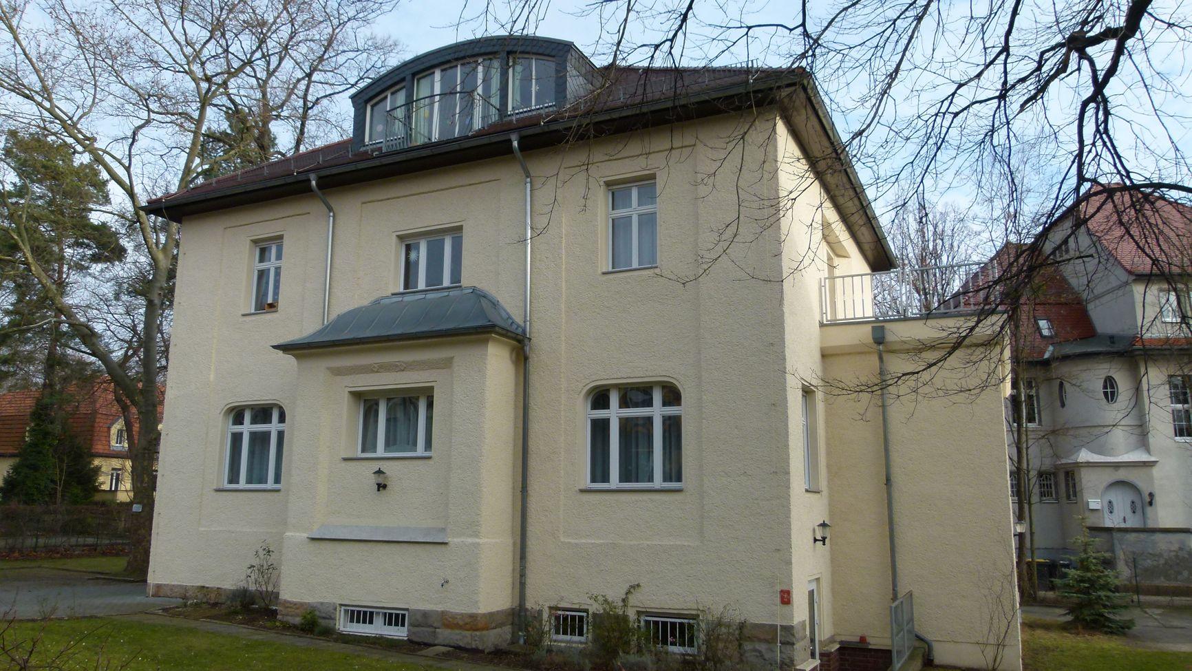 Здание бывшей резидентуры КГБ в Дрездене