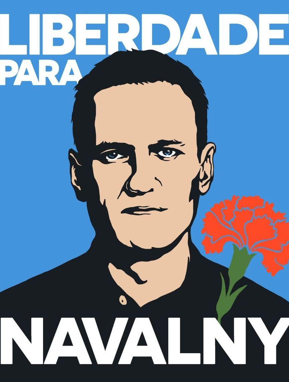 Гвоздика — национальный португальский символ победы над диктатурой. Художница Александра Осташева запустила в соцсетях флешмоб в поддержку Навального.