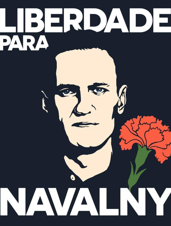 Гвоздика — национальный португальский символ победы над диктатурой. Поэтому сторонники Навального в Лиссабоне организовали вот такой онлайн-флешмоб в соцсетях.