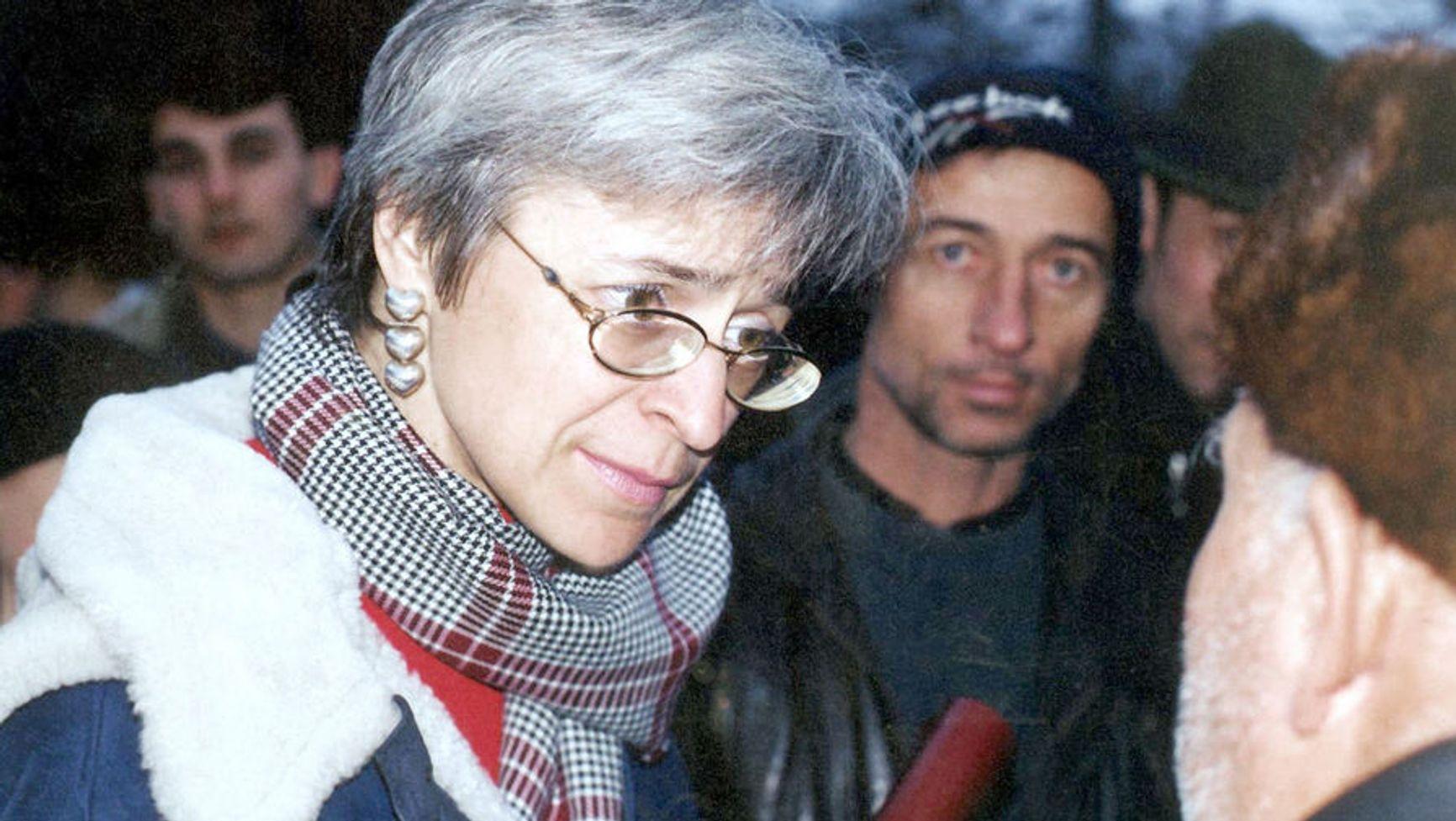 Анна Политковская в Чечне