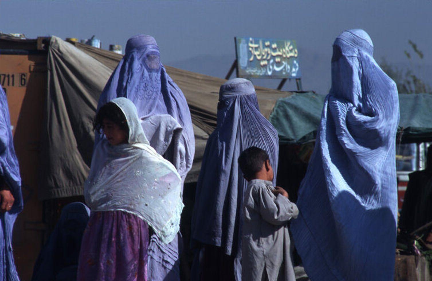 Афганские женщины под властью талибов