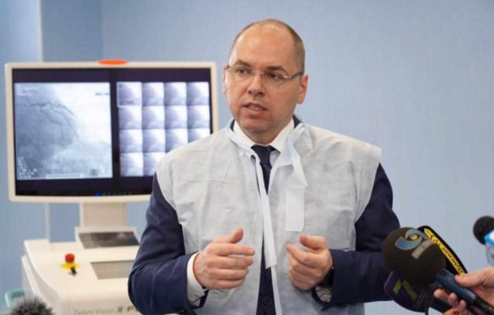 Глава украинского Минздрава Максим Степанов