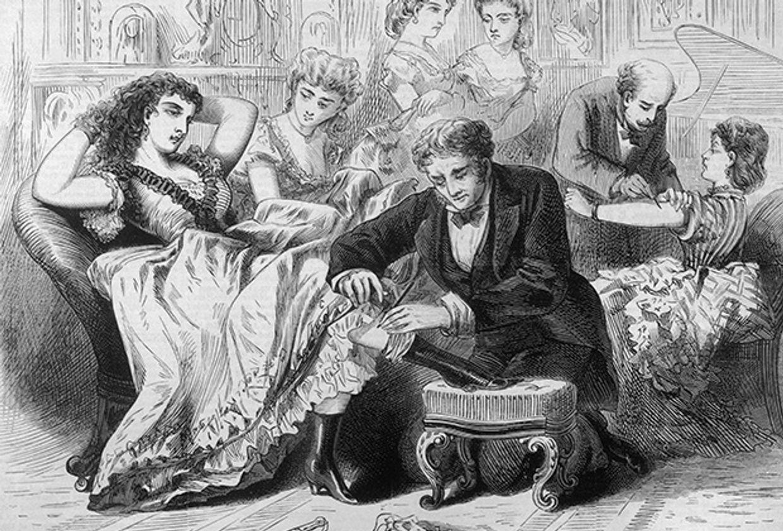 Прививание американцев (1871). Изображение: Mary Evans Picture Library