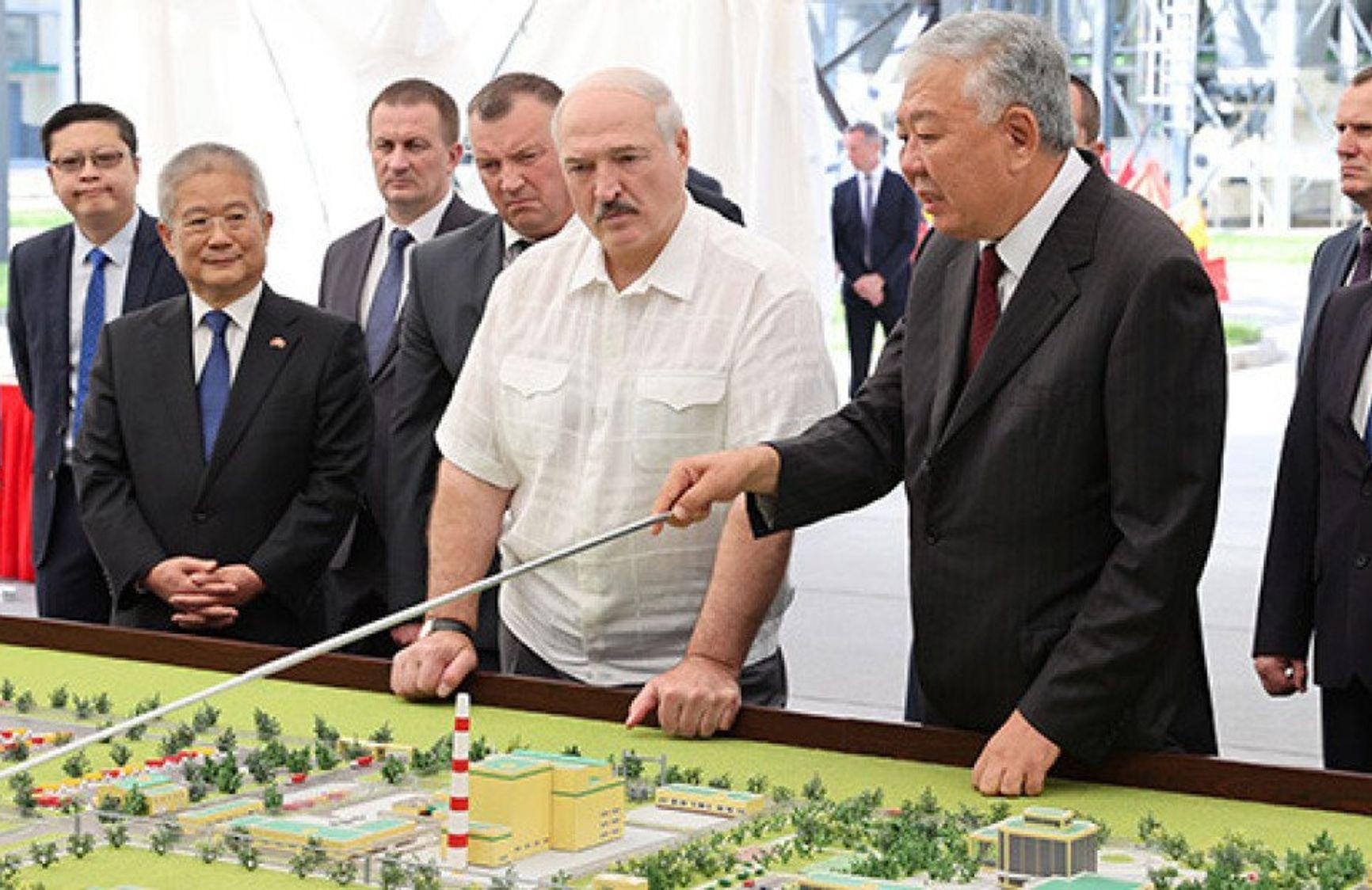 10 августа 2020 г. Александр Лукашенко и Данияр Усенов