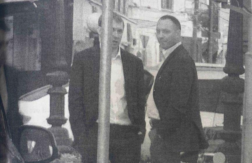 Захарченко и Удодов под наружным наблюдением