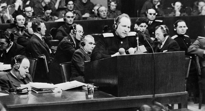 Роман Руденко в Нюрнберге