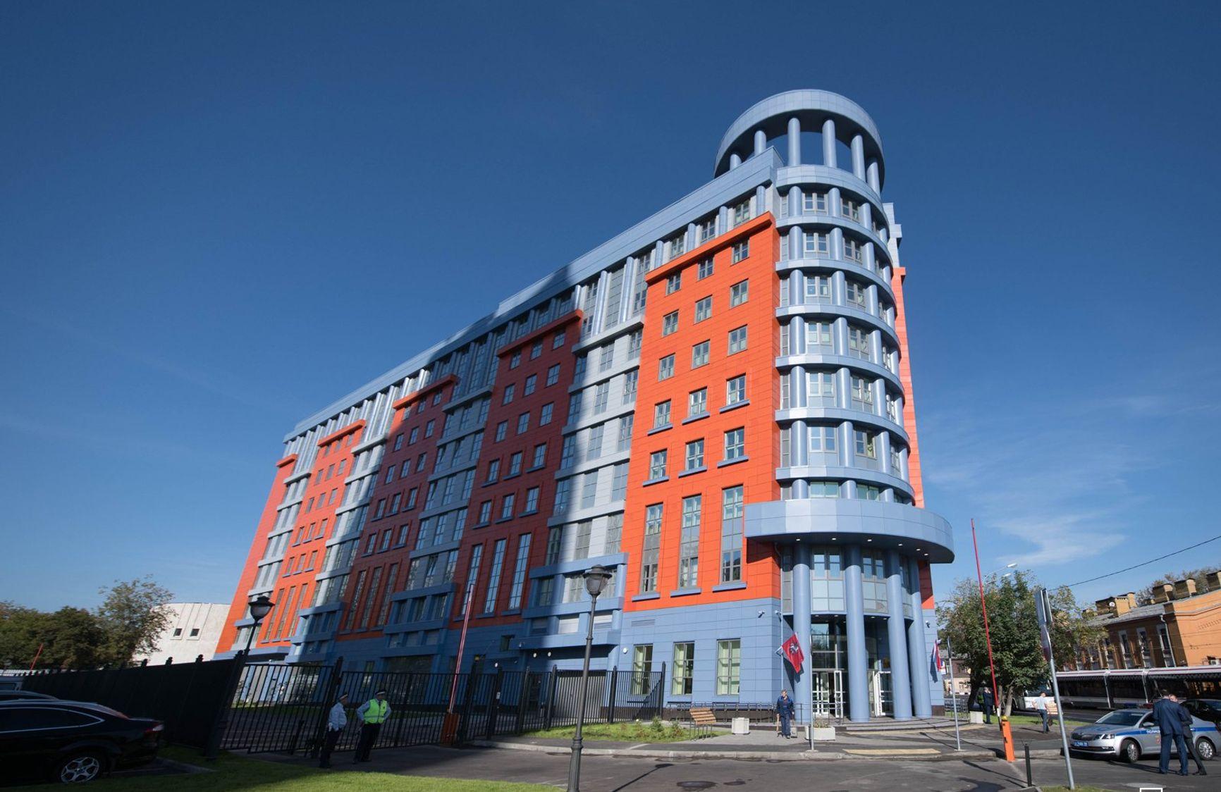 Новое здание Тверского и Мещанского судов