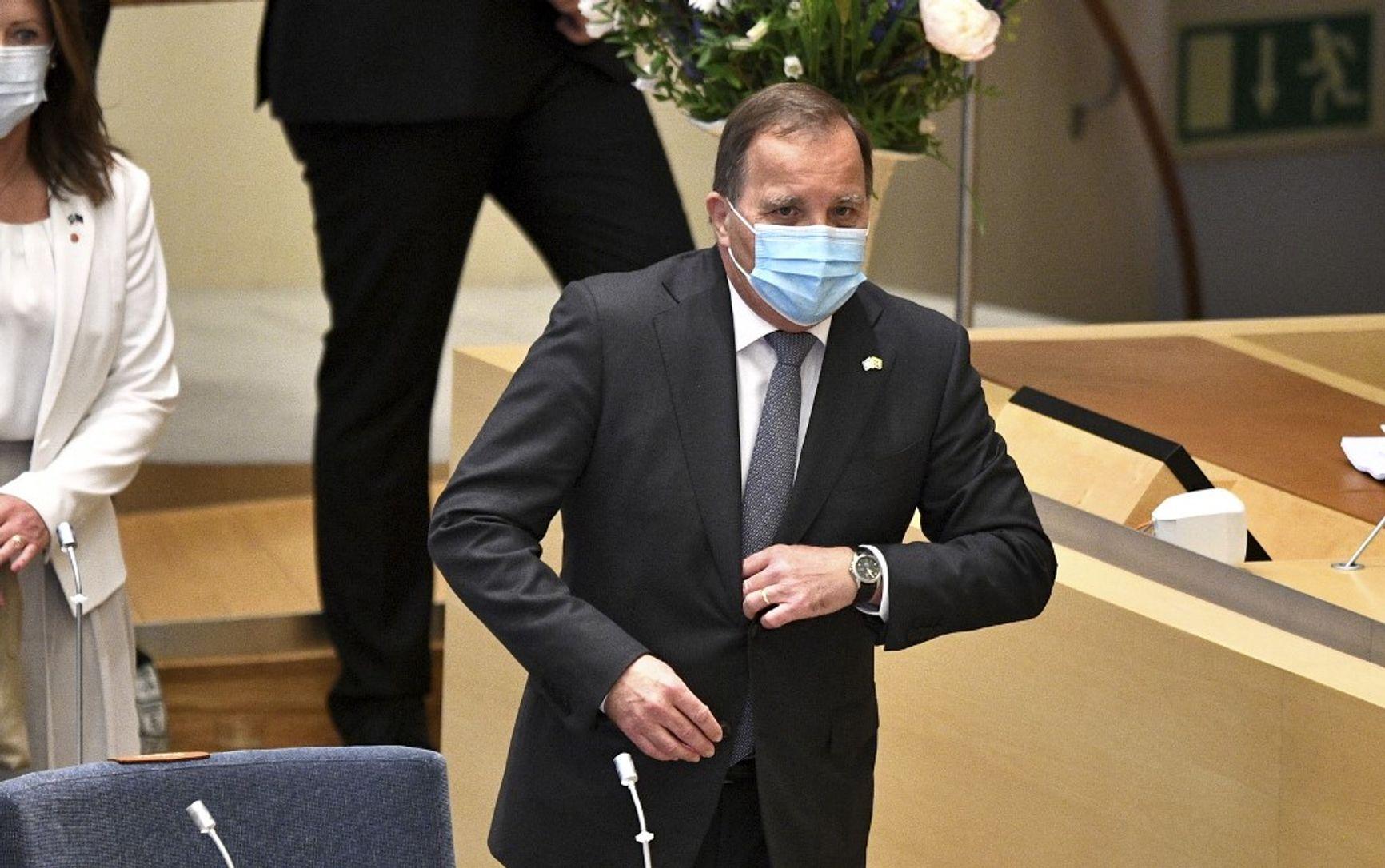 Стефан Лёвен - первый премьер-министр в новейшей истории Швеции, получивший вотум недоверия