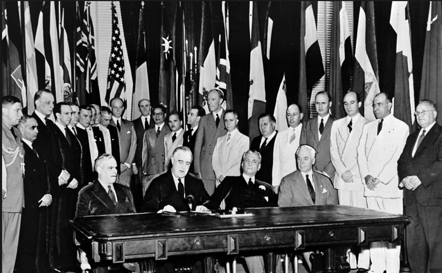 1943 г. Создание ФАО (Продовольственной и сельскохозяйственной организации Объединённых Наций)