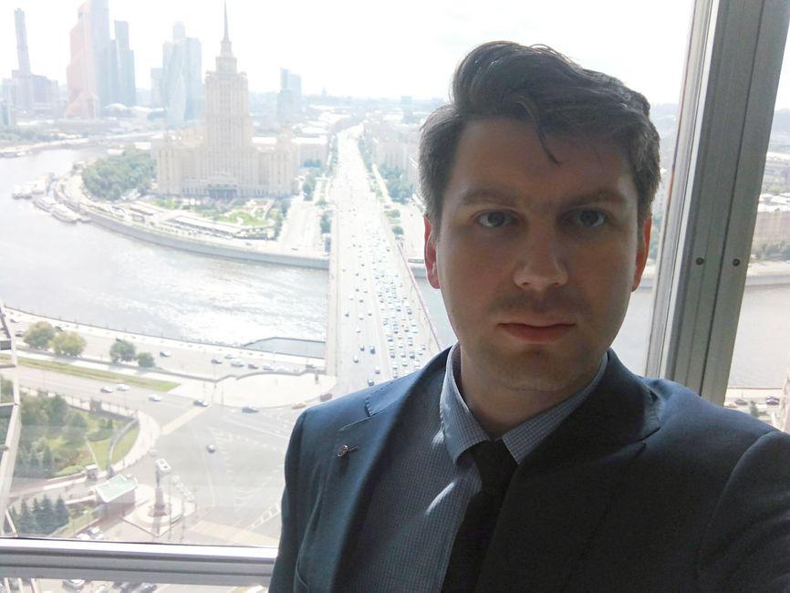 Петр Плискин, селфи из здания мэрии Москвы
