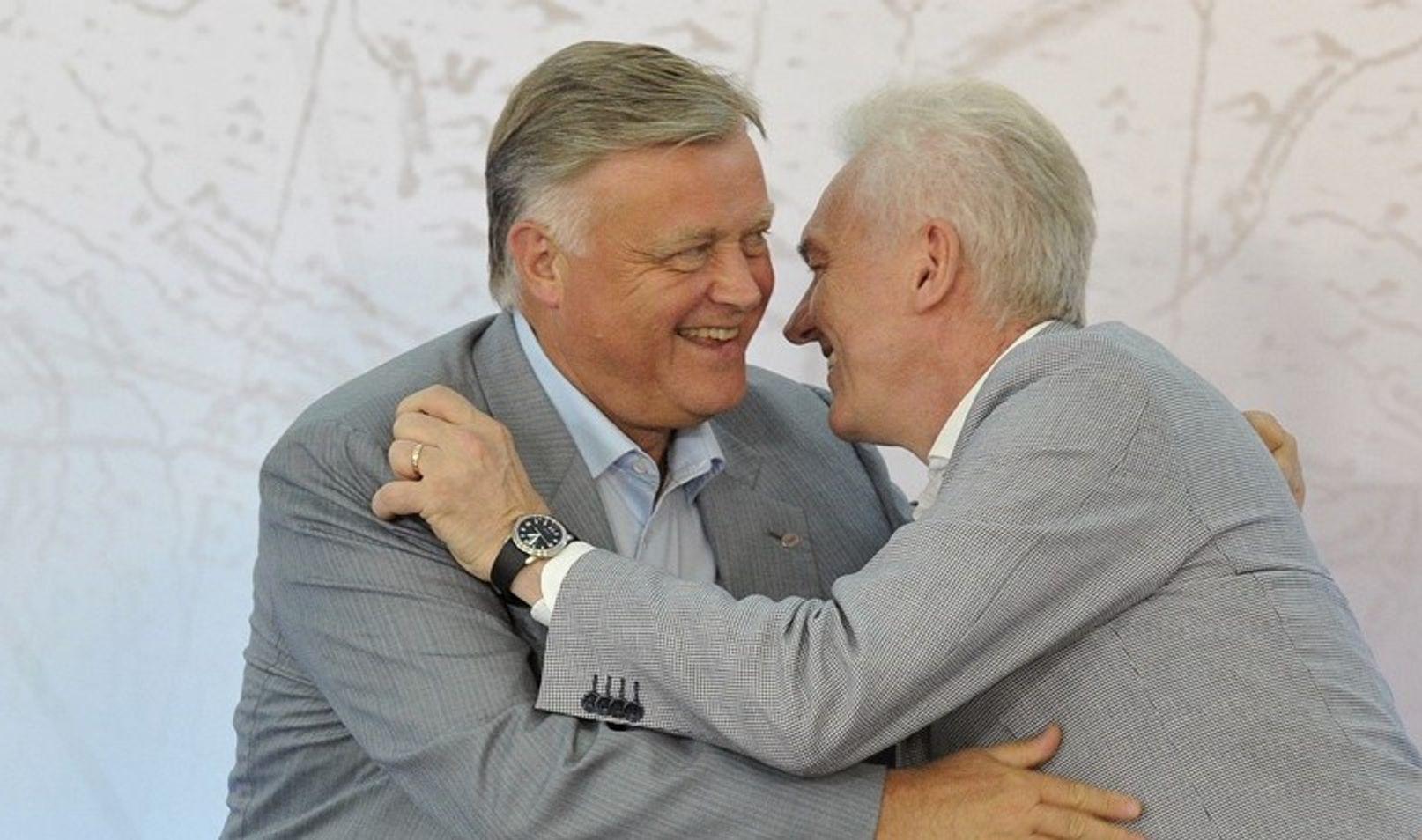 Владимир Якунин и Геннадий Тимченко