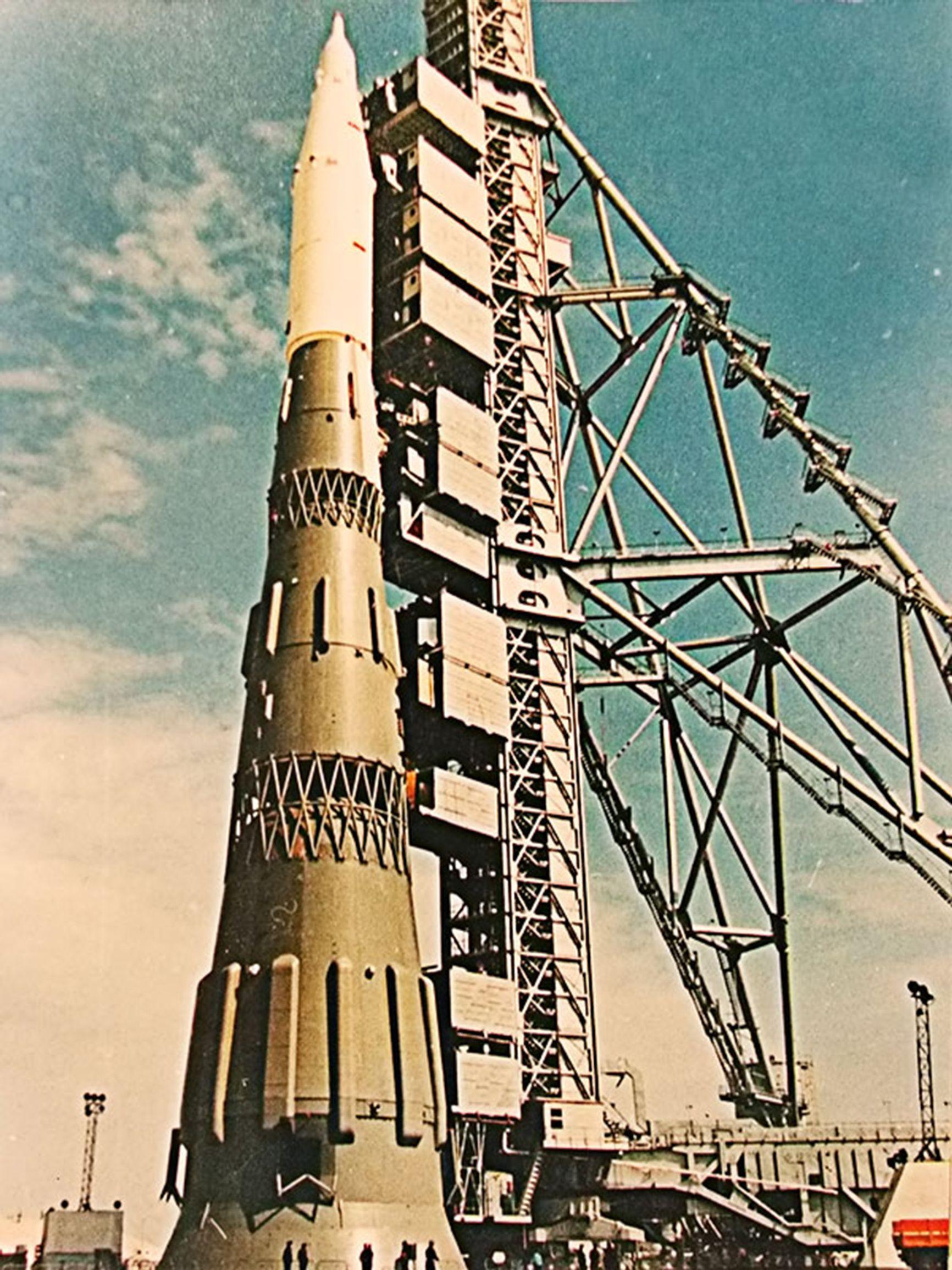 Н-1. Даже так и не полетевшая лунная ракета впечатляет