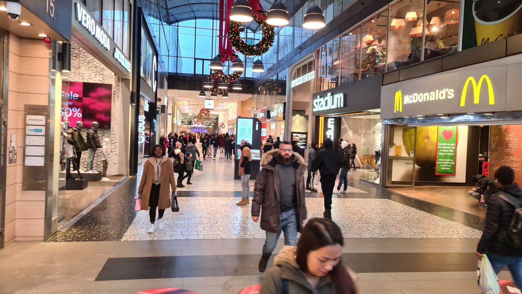 Торговый центр Nordstan, 31 декабря