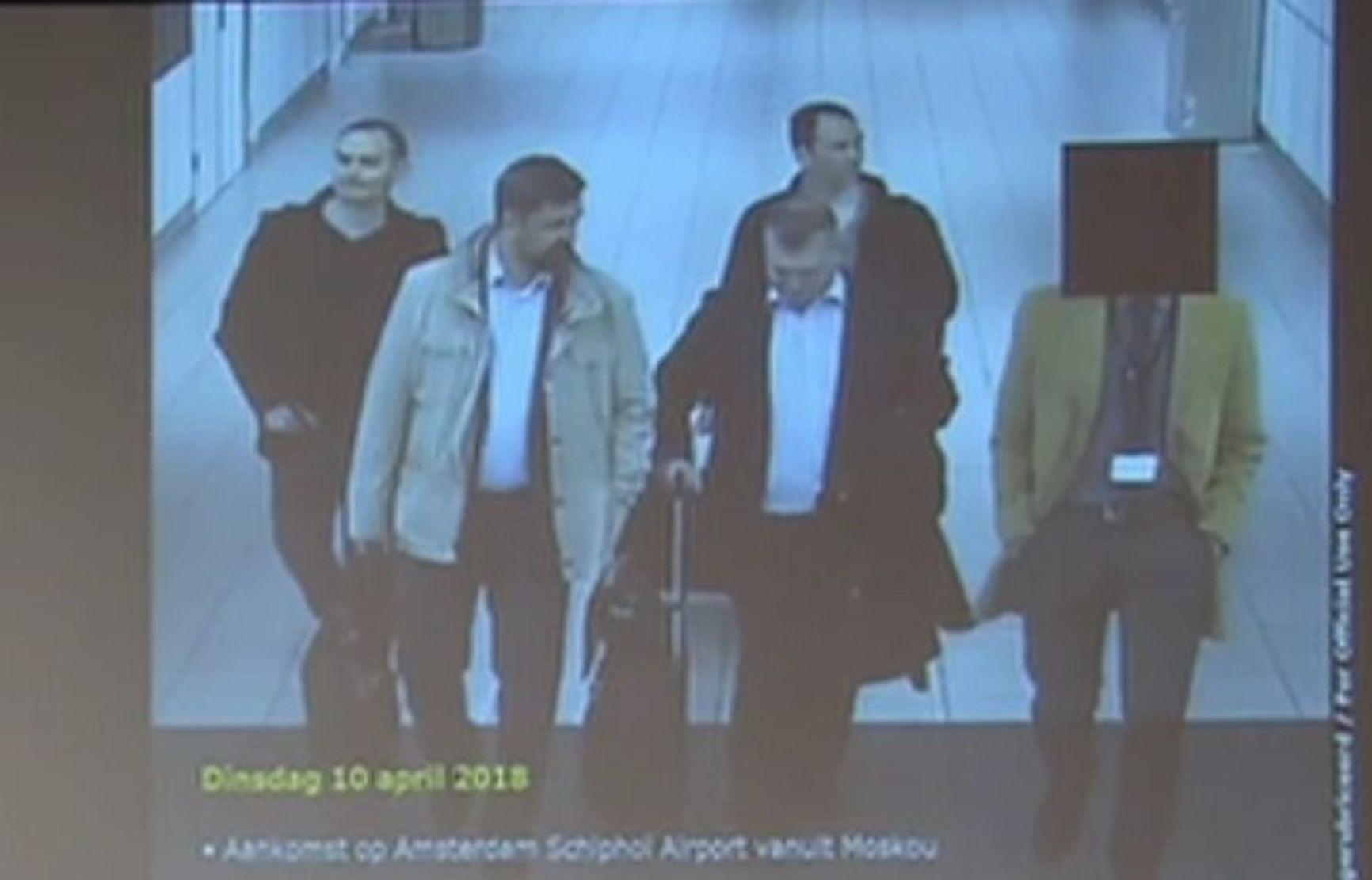 Alexei Morenets, Evgeny Serebryakov, Oleg Sotnikov and Alexei Minin