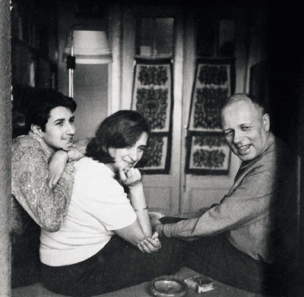 Андрей Сахаров и Елена Боннэр с сыном Алексеем, 1972 год