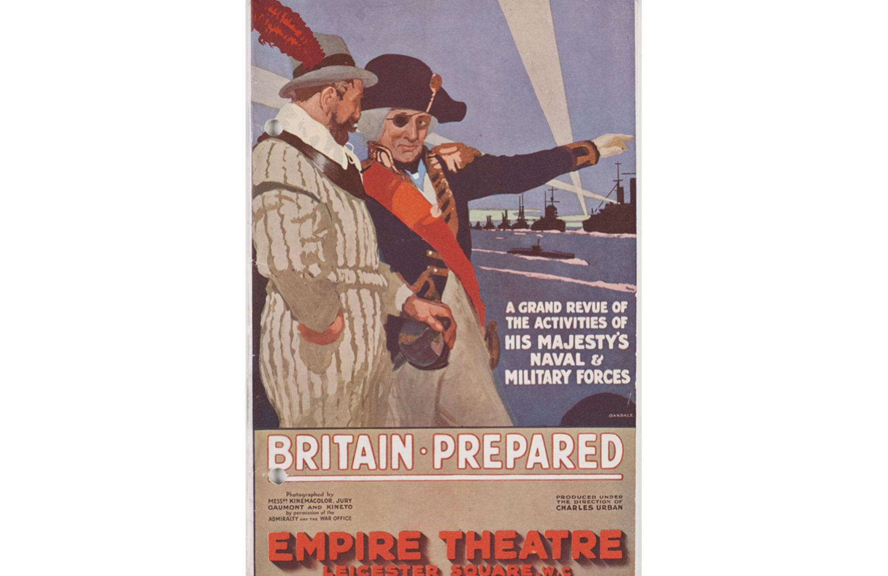 "Постер британского пропагандистского фильма ""Britain Prepared"", 1915 г."