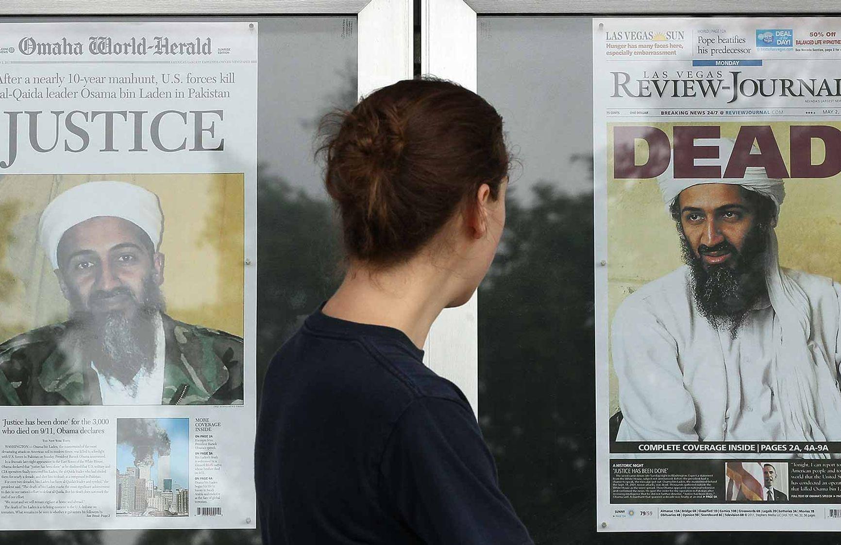 2 мая 2011 года Усама бен Ладен был убит американским спецназом в результате спецоперации на территории Пакистана