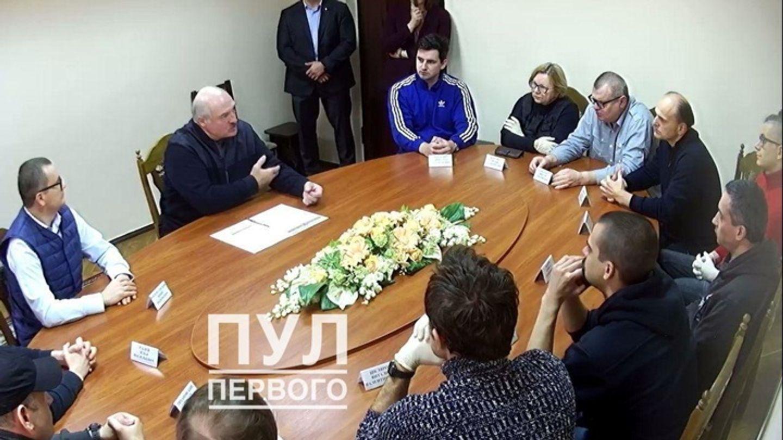 На встрече в СИЗО КГБ Беларуси