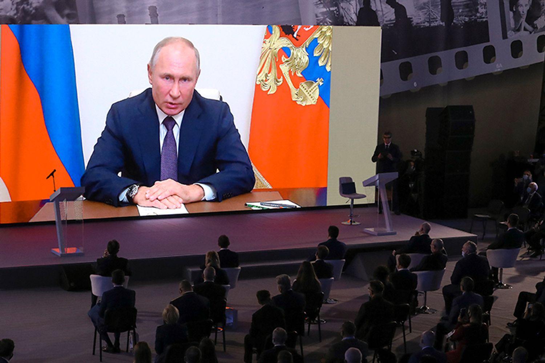 Выступление Владимира Путина на форуме «Уроки Нюрнберга»