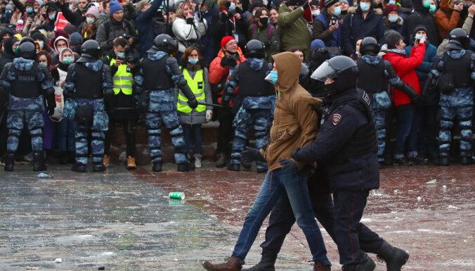 В Москве задержали первого человека по делу о применении насилия к силовикам на митинге 23 января