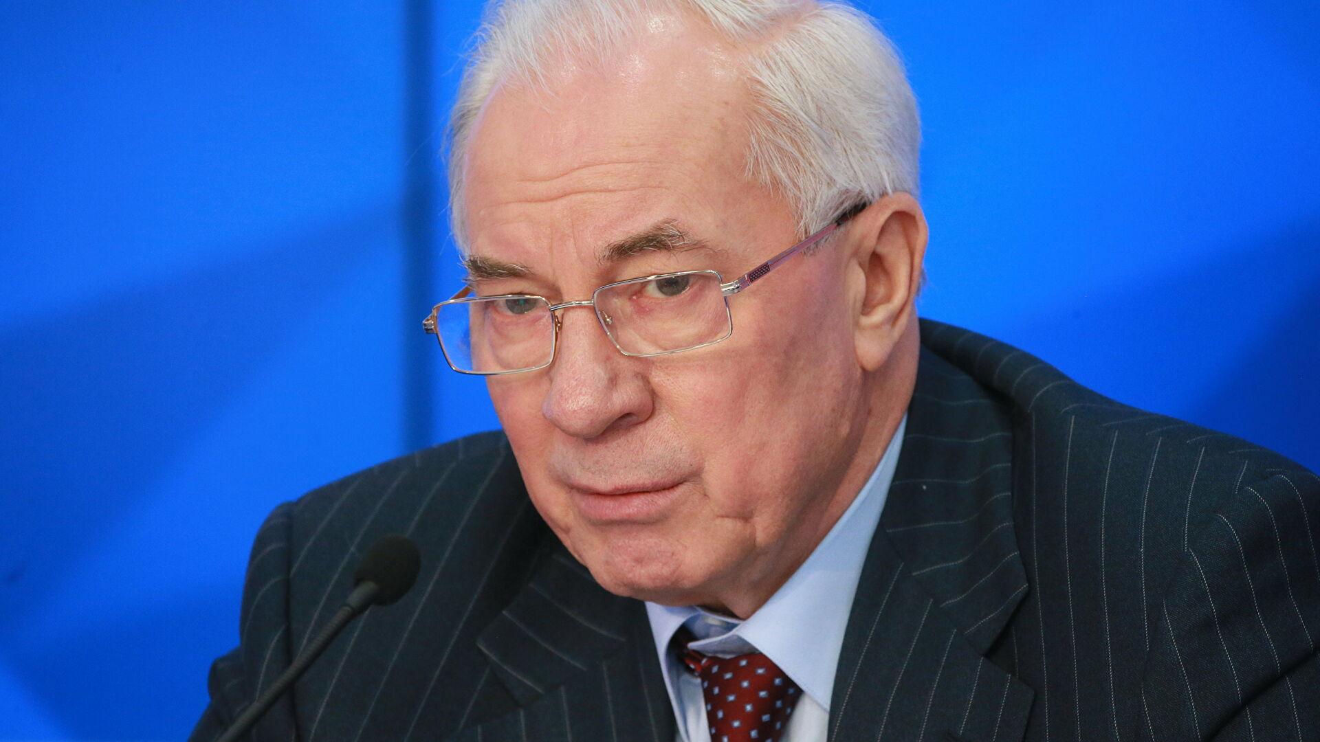 На бывшего украинского премьера Николая Азарова завели дело о госизмене из-за «харьковских соглашений»