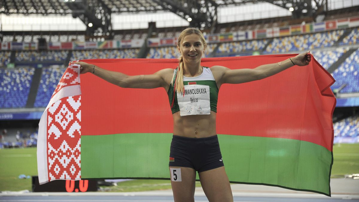 Белорусская легкоатлетка Кристина Тимановская попросила политического убежища в Польше
